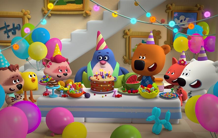 Мультики с поздравлениями с днем рождения