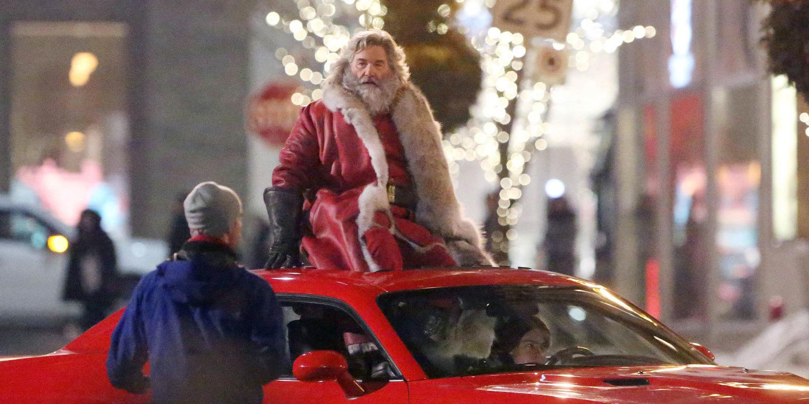 примере одного рождественские хроники постер на русском фотографии показывающие сходства