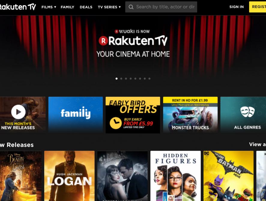 Rakuten TV запускают совместный с TalkTalk SVOD-сервис