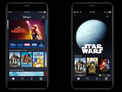 В первый месяц после запуска количество скачиваний приложения Disney+ достигло 22 млн
